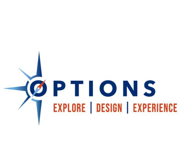 JHU Options Logo Compass