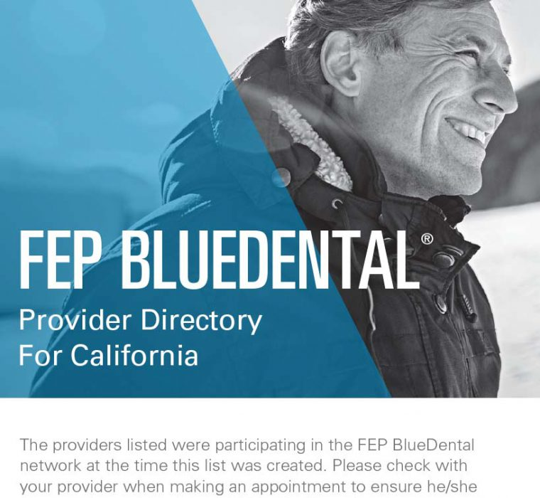 BCBS FEP BLue Dental Provider Directory Cover